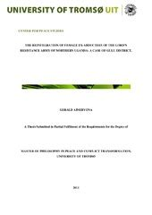 Master thesis geotechnical engineering pdf